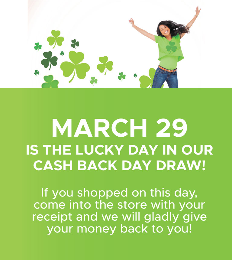March Cash Back