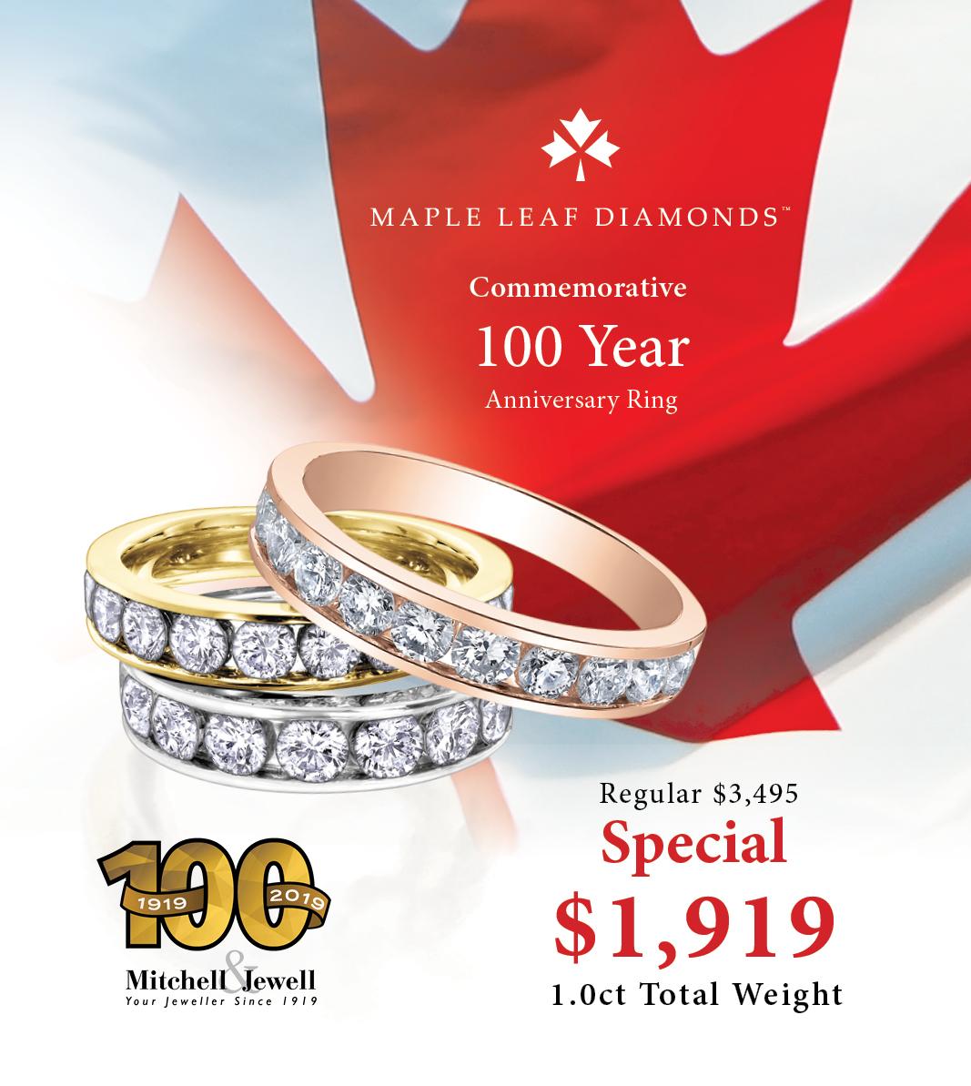 Mitchell & Jewell Anniversary Ring